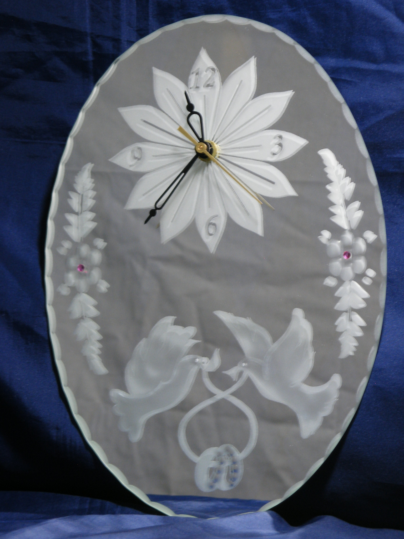 Horloge 30 x 21 cm Mariage